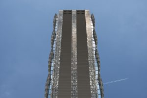 architectural photography Allianz Tower Milan